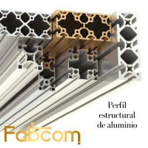 Perfil Estructural de Aluminio
